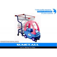 Wholesale Popular Plastic Body Children Shopping Trolley With Child Car Seats For Grocery Store from china suppliers
