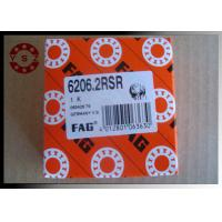 Wholesale Single Row Deep Groove Ball Bearings ABEC3 6206 Bearing With Two Rubber Seals from china suppliers