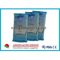 Wholesale Disposable Wet Wash Glove Alcohol Free Anti Bacteria For Household from china suppliers