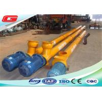 Buy cheap Electric Engine Stainless Steel Screw Auger Conveyor With 273mm 219mm 323mm Diameter from wholesalers
