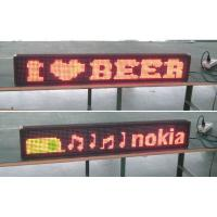 Wholesale Single color LED Message Display Window led advertising signs from china suppliers