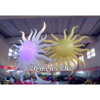 Wholesale 2m Height Inflatable Sun with Light for Club and Concert Decoration from china suppliers