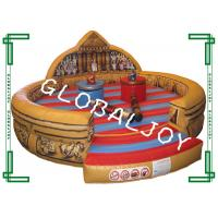 Wholesale Outside Inflatable Jousting Arena , Inflatable Gladiator Games For Kids from china suppliers