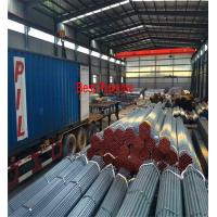 ASTM A53 API 5L UOE Steel Pipe , Black ERW Carbon Steel Pipe for sale