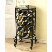 Wholesale Wine cage with tempered glass top  from china suppliers