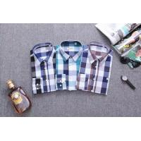 Wholesale Burberry long shirts men plaid shirts brand shirts designed clothing from china suppliers