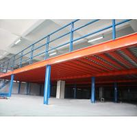 Wholesale Steel Mezzanine Floor Construction For Storage , Industrial Mezzanine Systems  from china suppliers