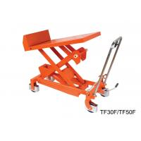 Wholesale Professional Heavy Duty Tilting Lift Table Stainless Steel Lift Cart High Strength from china suppliers