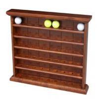 Quality Wooden Golf  Ball Cabinet With Clock For 54 Pieces Of Golf Ball for sale