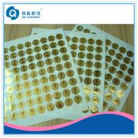 Quality Self Adhesive Security Seal Labels , Void Warranty Tamper Proof Stickers for sale