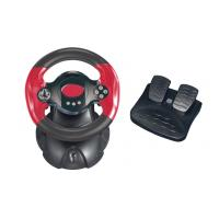 Wholesale Professional HIPS / ABS PC Game Racing Wheel with Rubber Handgrip from china suppliers