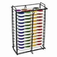 Wholesale 6 compartments floor stand literature newspaper and Magazine Display Rack Powder coating from china suppliers