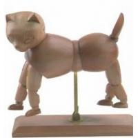 Wholesale Vivid Craft Artist Wooden Manikin Dog / Cat Mannequin Good Design from china suppliers