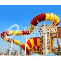 Wholesale Funny Giant Super Tornado Water Slide , Capacity 720 Riders Per Hour for Aqua Park from china suppliers