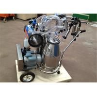 Wholesale Food Grade Portable Milking Machine Twin Buckets With CE Approved from china suppliers