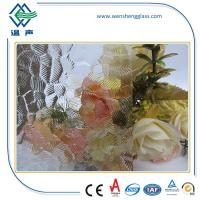Wholesale 3mm - 8mm Patterned frosting window glass , laminated frosted glass from china suppliers