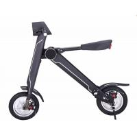 Wholesale Cool 36v HoverBoards Electric Scooters , 12 Inch Mini Folding Electric Bike from china suppliers
