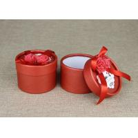 Wholesale Red Mini Cardboard Paper Cans Packaging with Ribbon and Tag from china suppliers