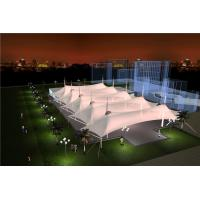 Wholesale Sunshade Tension Membrane Structure Of Railway Station Landscape Canopy Roof from china suppliers