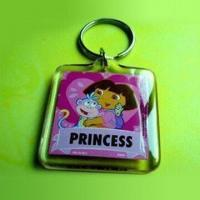 Wholesale Plastic Photo Keychain in Fashionable Design, Available in Various Colors and Designs Accepted from china suppliers