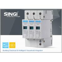 Wholesale IEC Standards Lightning surge protector SPD , transient voltage surge suppressor TVSS from china suppliers