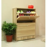 Wholesale 15mm PB Melamine Wooden Shoe Rack Cabinet Home Furniture Living Room DX-8607A from china suppliers