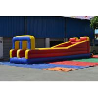 Wholesale Outdoor 0.55mm PVC Tarpaulin Inflatable Sports Games , Runway from china suppliers