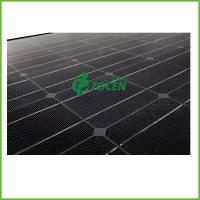 Wholesale 235W 12 / 24 Volt Tempered Glass Portable Black Solar PV Panels 1580*808*35mm from china suppliers