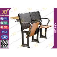 Buy cheap Gravity Return Folded Seat  Lecture Hall Chair Table With Writing Board For University from wholesalers