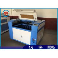 Wholesale 80W Co2 CNC Desktop Acrylic Laser Engraving Machine With Blade Table from china suppliers