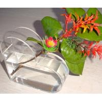 Wholesale Small acrylic glasses flower display holder from china suppliers