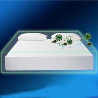Buy cheap White King Size Waterproof Mattress Cover Protector TPU Laminated from wholesalers