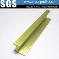 Wholesale Shining Copper Extruded Profiles Brass Extruding Window Head Sections from china suppliers