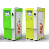 Wholesale 32 Inch Waterproof Recycle Kiosk Cold Roll Steal Sheet Scan Barcode Kiosk from china suppliers