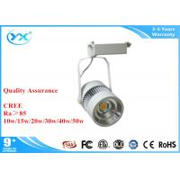 Wholesale 2500k 7w 10w 30w LED Track Lights , bright interior track lighting CRI >80 from china suppliers