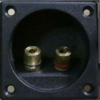 Wholesale 2P Push Speaker Box Terminal Round / Square Panel Mounted Switch Type from china suppliers