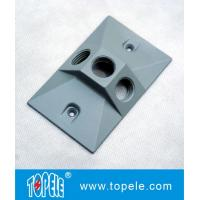 Wholesale OEM Vertical Aluminum Rectangular Weatherproof Electrical Boxes Cover from china suppliers