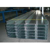 Quality Q235 White Zinc Coat Galvanized Steel Square Tubing Structure C Channel for sale
