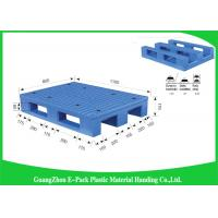 Wholesale Durable Heavy Duty Plastic Pallets Transport Moving Anti - Slip With Steel Tubes Inside from china suppliers
