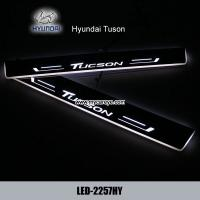 Wholesale Hyundai Tuson DRL LED Daytime Running Lights car light aftermarket sale from china suppliers