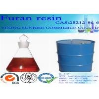 Quality Furan Resin Foundry Chemicals CAS 2512-86-6 C5H6O2 Red Brown Transparent Liquid for sale