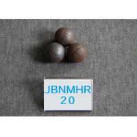 Wholesale B2 D20MM  Hot Rolling Steel Ball   Surface Hardness 58-62HRC Grinding Media from china suppliers