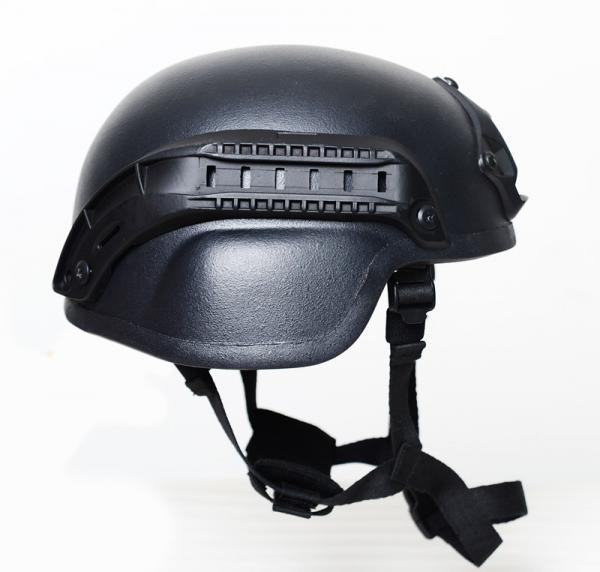 Quality Aramid UD Material MICH2000B Ballistic Helmet with NIJ IIIA level for sale