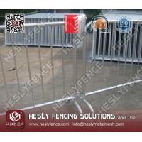 Wholesale Bridge Feet Crowd Control Barrier from china suppliers