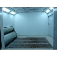 Wholesale Electric Furniture Spray Paint Booth With Downdraft 24*5*3.2m from china suppliers