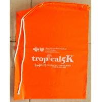 Wholesale Fashionable CPE LDPE Shoulder Plastic Drawstring Backpack bags from china suppliers