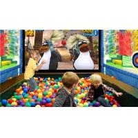 Quality Sealy game machine Indoor amusement park equipment fancy ball shooting game for sale