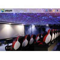 Wholesale 3 DOF Electric System 5D Theater System With Special Motion Seat / Effects from china suppliers