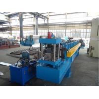 Wholesale Cold Roll C Purlin Forming Machine for upright structure with 2 holes from china suppliers