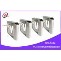 Wholesale Attraction access control tripod turnstile gate , bar code scanner tripod gate from china suppliers